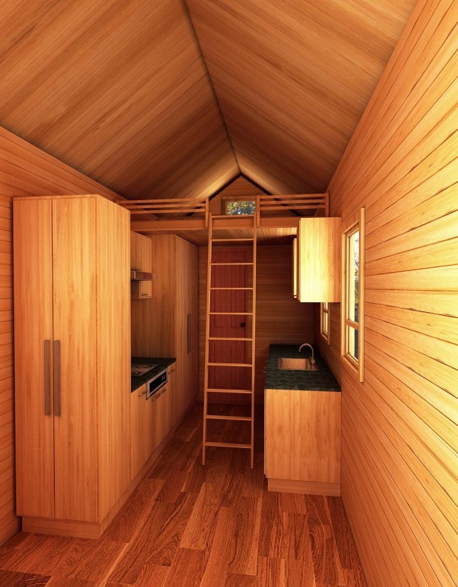 Seattle American Tiny House Natural Light