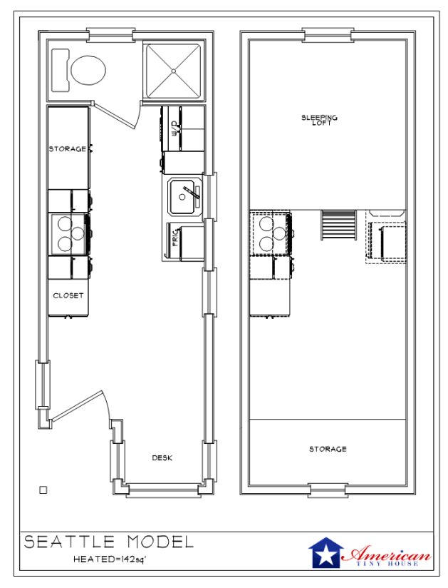 Tiny house plans on wheels american tiny house for Floor plans for tiny homes