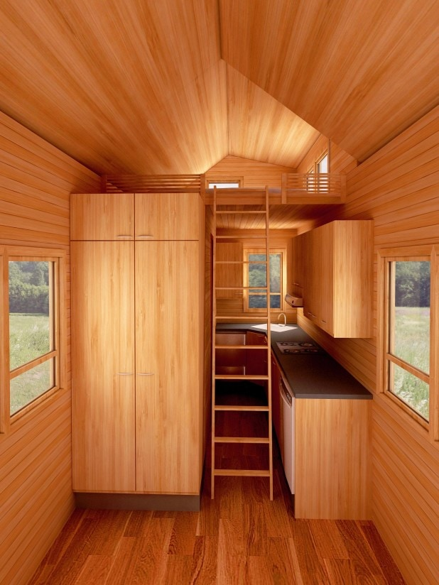 Dallas American Tiny House Warm And Inviting