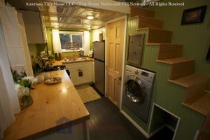 Kitchen - American Tiny House Everett Tiny House Nation