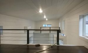 American Tiny House San Francisco Loft Area