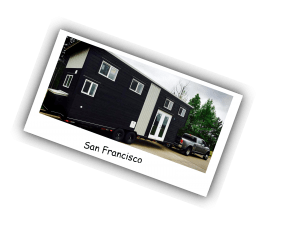 American Tiny House- San Francisco Model Polaroid
