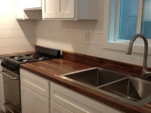 American Tiny House San Francisco Sink Area