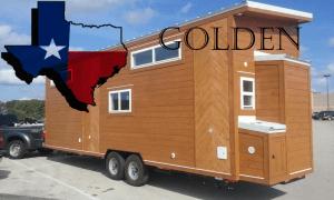 28 foot American Tiny House Golden Model Header