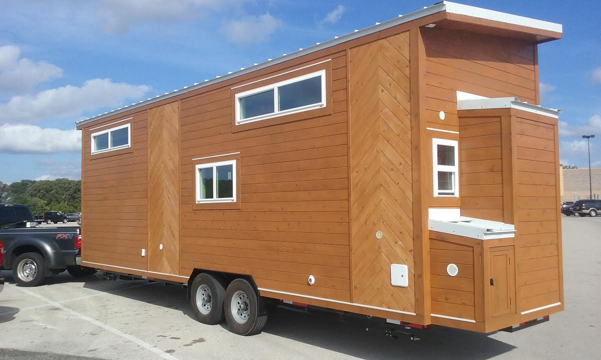 Golden American Tiny House American Tiny House