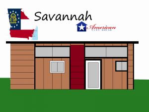 Savannah-Mockup American Tiny House